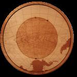 Point Nemo Wood Map
