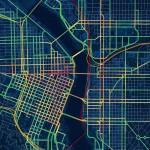 Drunk Traffic Map of Portland DUIs